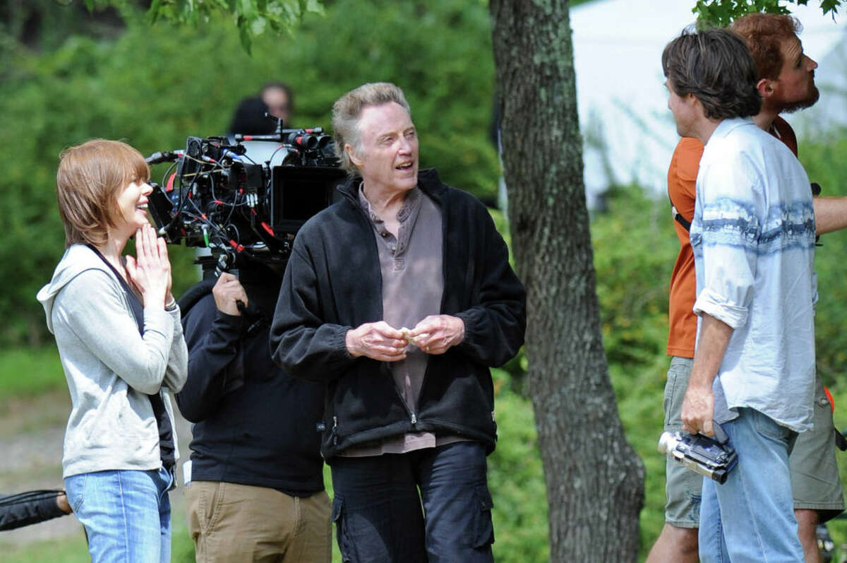 Christopher Walken is part of the star-studded cast of the new Apple+ series,