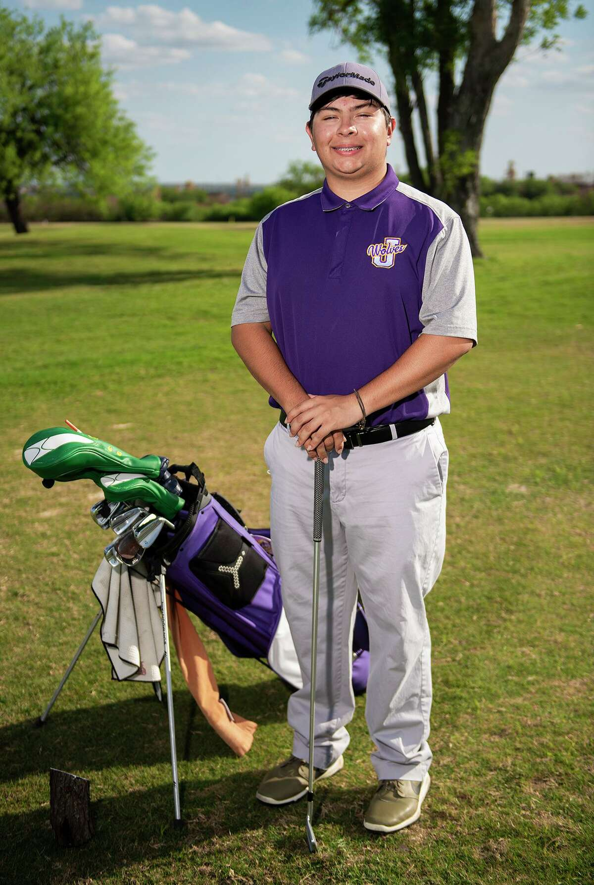 Jesse James Valdez placed eighth last week in the District 30-6A tournament to become the first LBJ golfer to earn a regional berth.