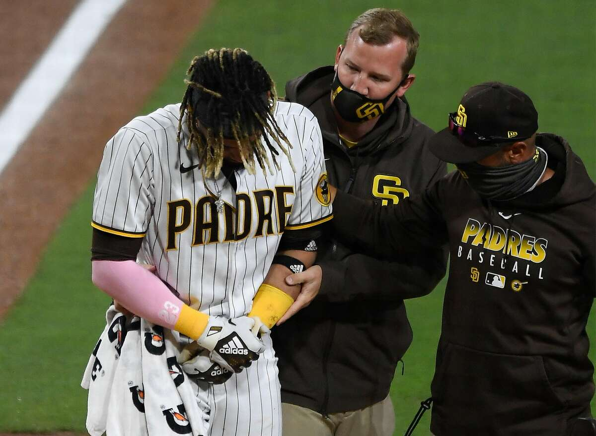 Young star Fernando Tatis Jr. was injured Monday, but the Padres are a team to beat in the division - and S.F. is not.