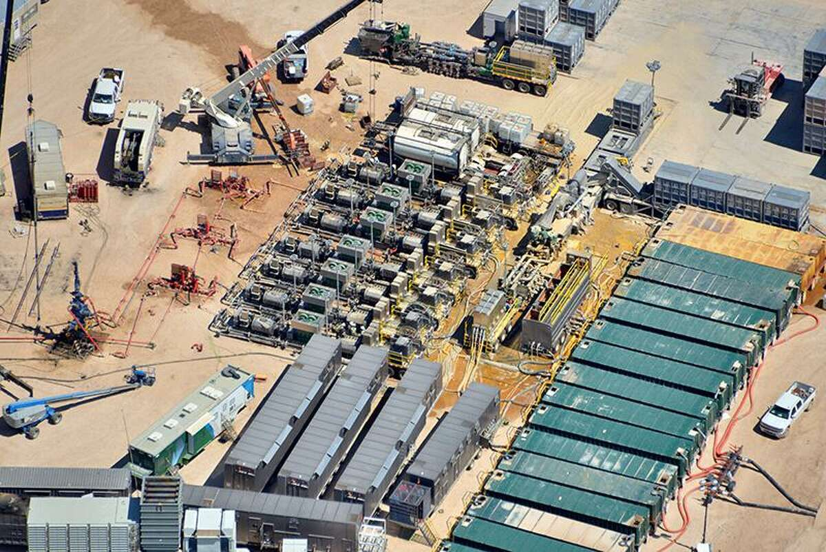 Evolution Well Services, a company based in The Woodlands that makes fracking equipment powered by natural gas produced at drillers' wells.