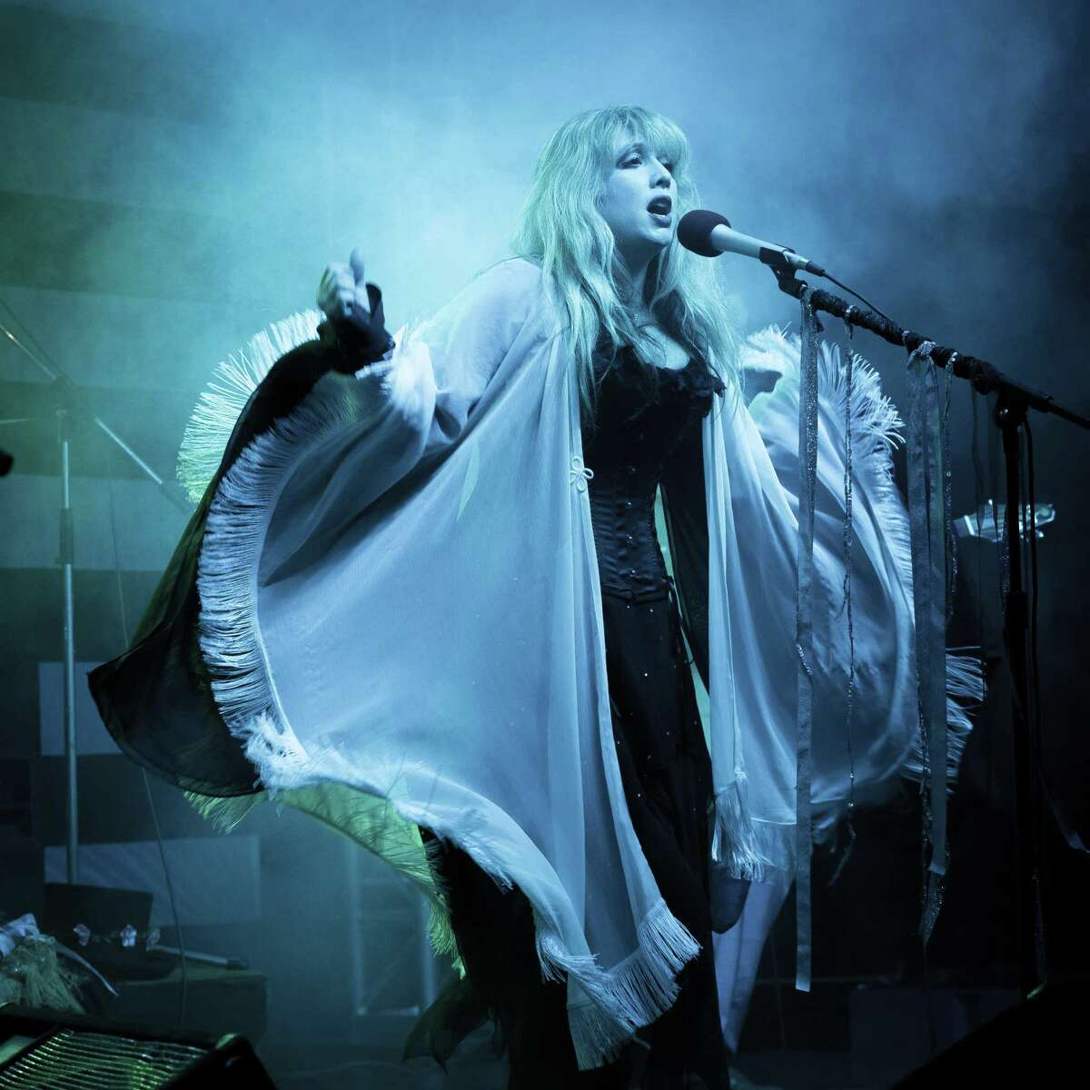 """Town Square Tribute: Stevie Nicks & Fleetwood Mac Cover is scheduled for 7:30-9:30 p.m. Saturday, Sept. 25, at Sugar Land Town Square at Highway 6 and U.S. Highway 59. """"Nightbird"""" captures the fire, energy, and spirit of Fleetwood Mac and Stevie Nicks with their spot-on tribute performances. Lead vocalist Brooke Alyson sounds like and bears a resemblance to Stevie Nicks. For more information go to https://tinyurl.com/4t8rytr."""