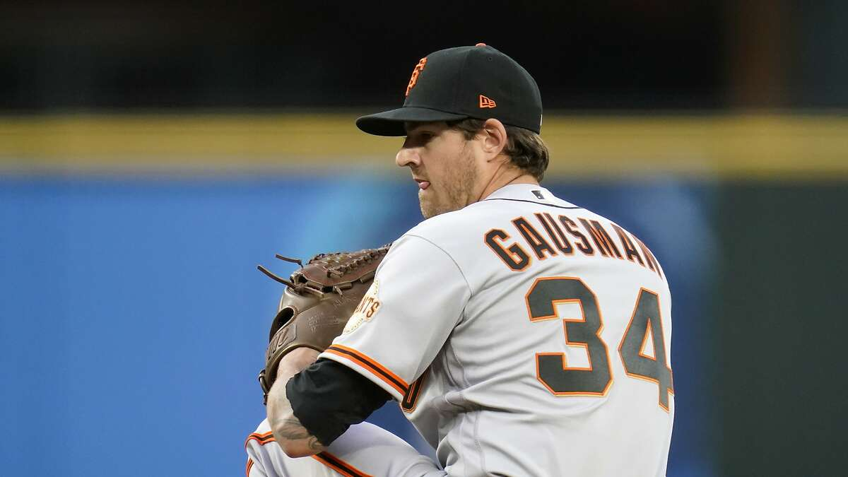 """Kevin Gausman, who limited Seattle to a run on two hits in 6 ?..."""" innings on Opening Night, is scheduled to start for the Giants in the finale of a three-game series in San Diego at 1 p.m. Wednesday (NBCSBA/104.5, 680)."""