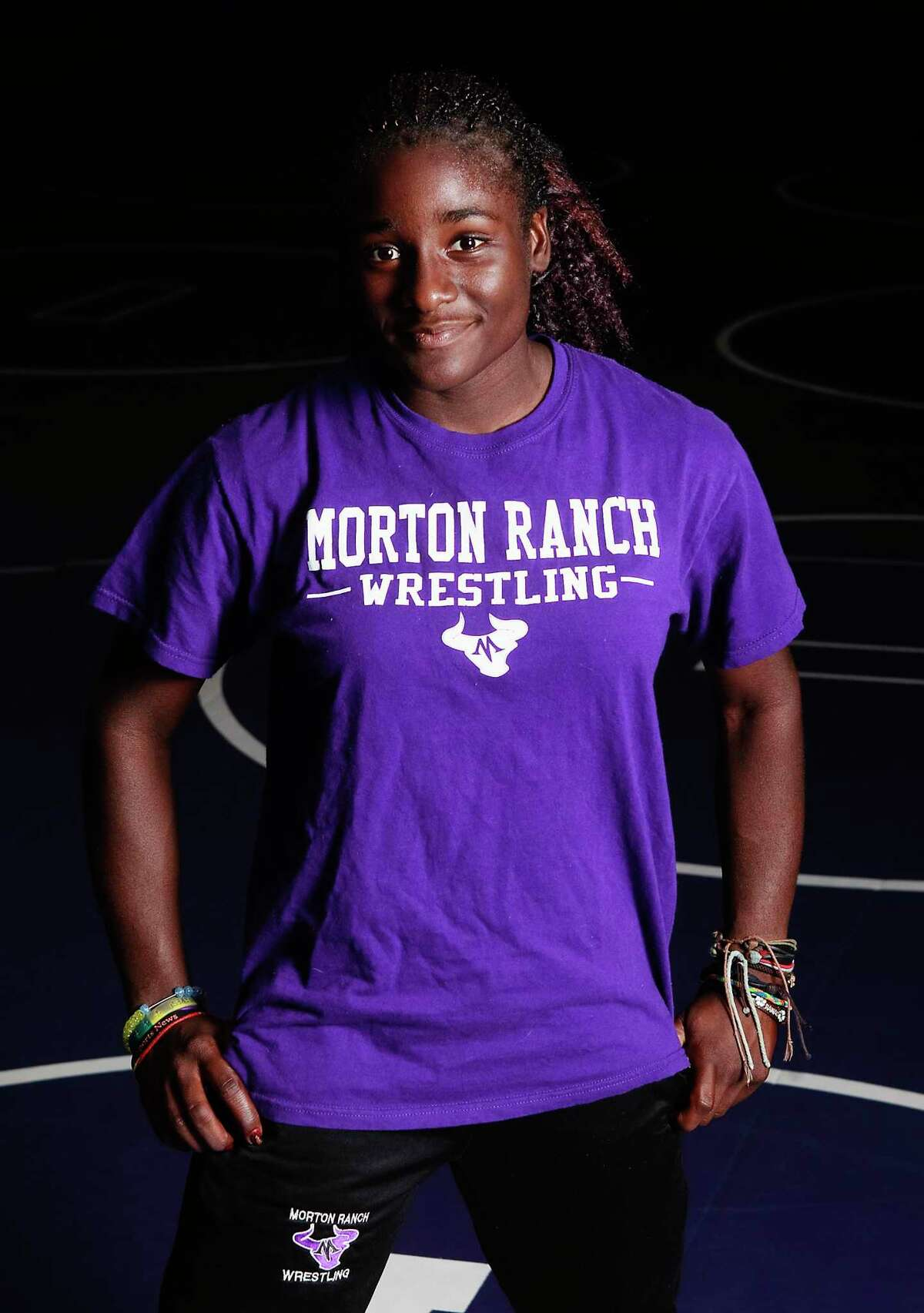 Morton Ranch wrestler Tamyra Mensah, who won her second straight state championship, has been selected as our Female Wrestler of the Year.