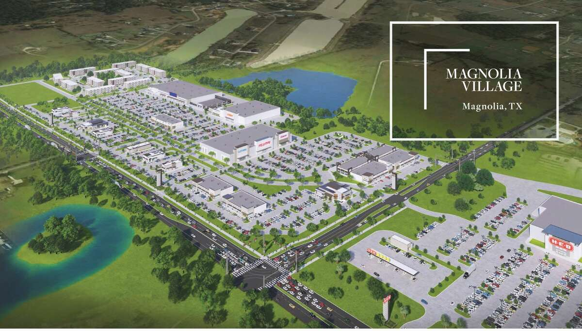 Gulf Coast Commercial Group is developing plans for Magnolia Village, a 60-acre project at FM 1488 and Spur 149 in the Magnolia. The plans include office, retail and apartments.