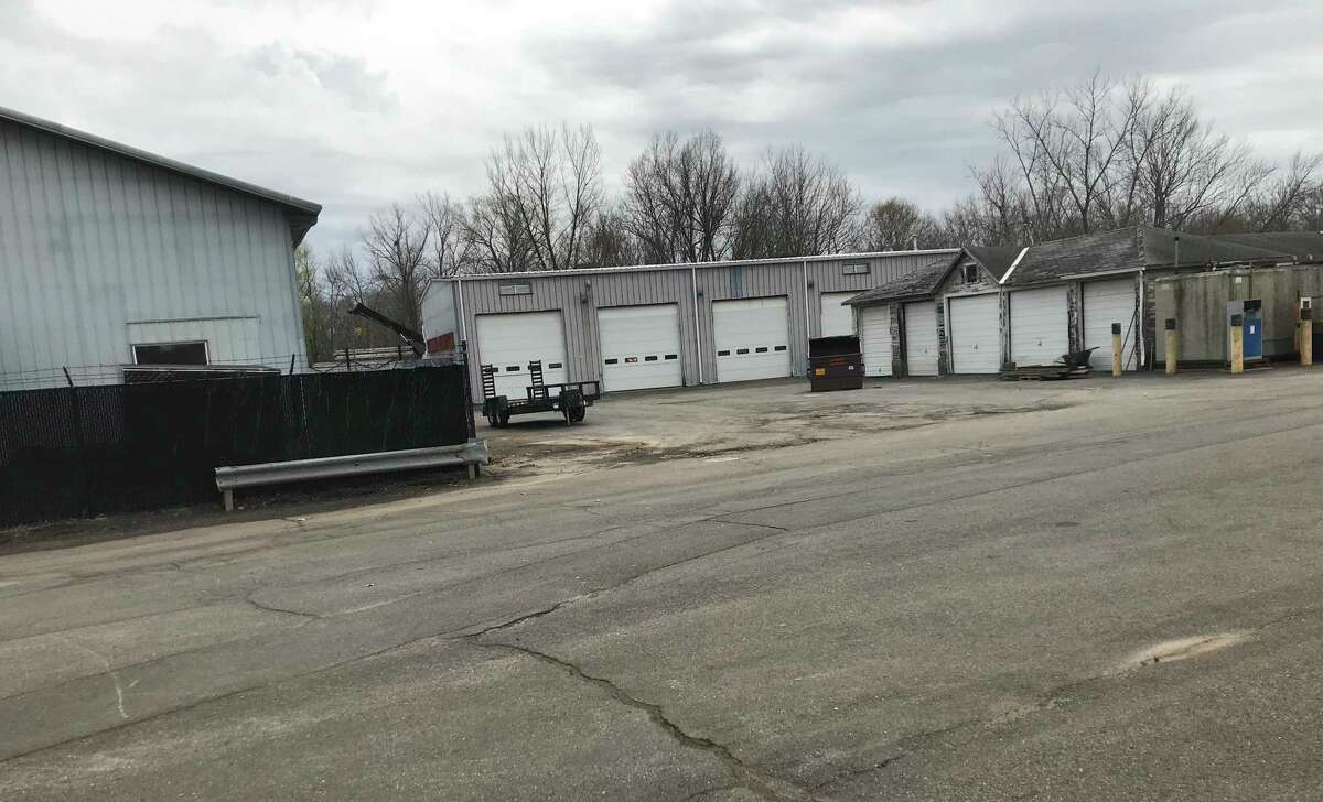 Cromwell Town Engineer Jon Harriman has issued a request for proposals for a feasibility/space needs study of the former Water Pollution Control Authority garage, at center.
