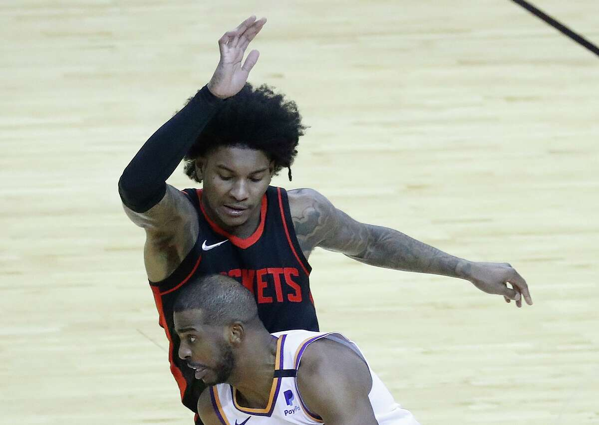 The Rockets' Kevin Porter Jr. got to see what an elite point guard looks like when he went against the Suns' Chris Paul on Monday night at Toyota Center.