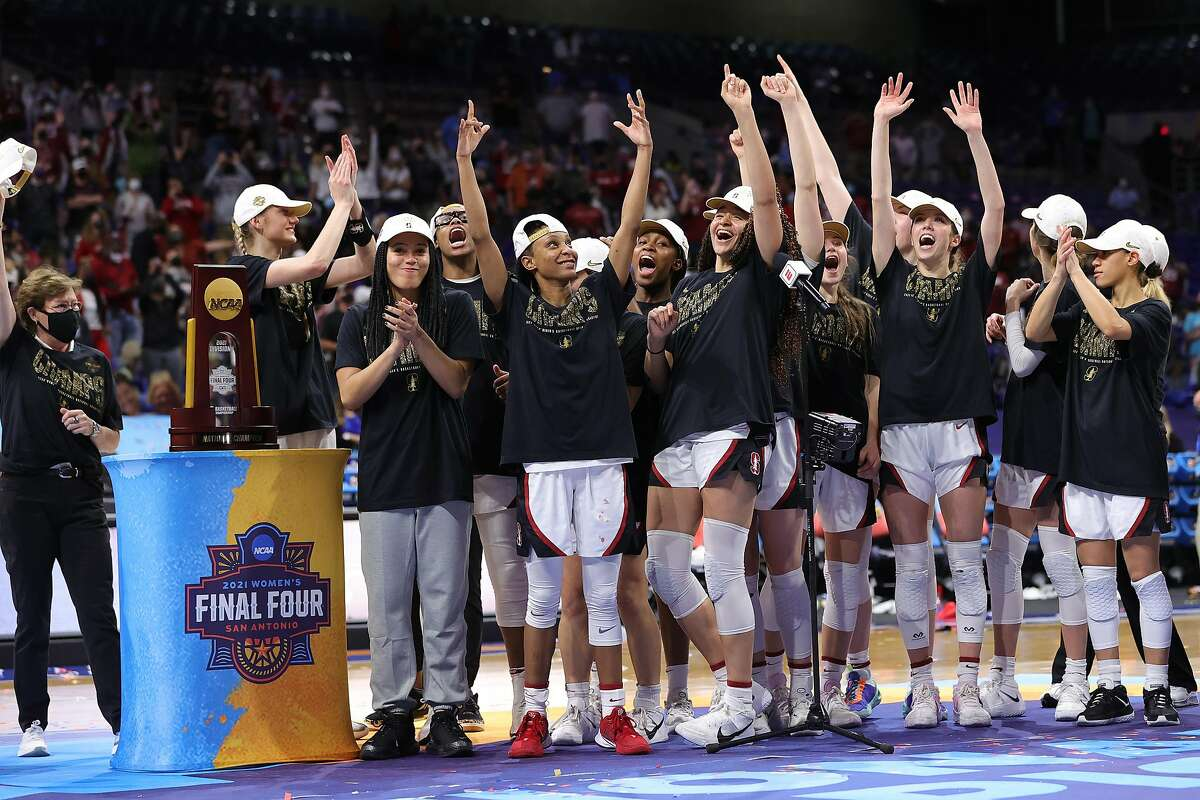Could this scene be repeated next year? National-champion Stanford loses its senior guards this year, but will return an immense amount of talent next season to defend its title.