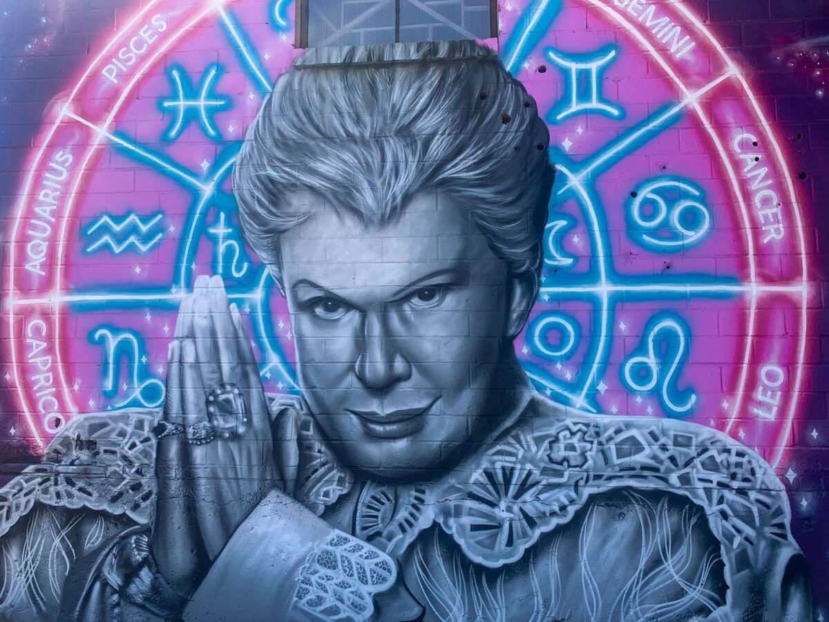 Before the invention of apps like Co-Star and other online sources reading the stars for us, we had Walter Mercado, a staple of Latino households who is now immortalized in the Lone Star Arts District.