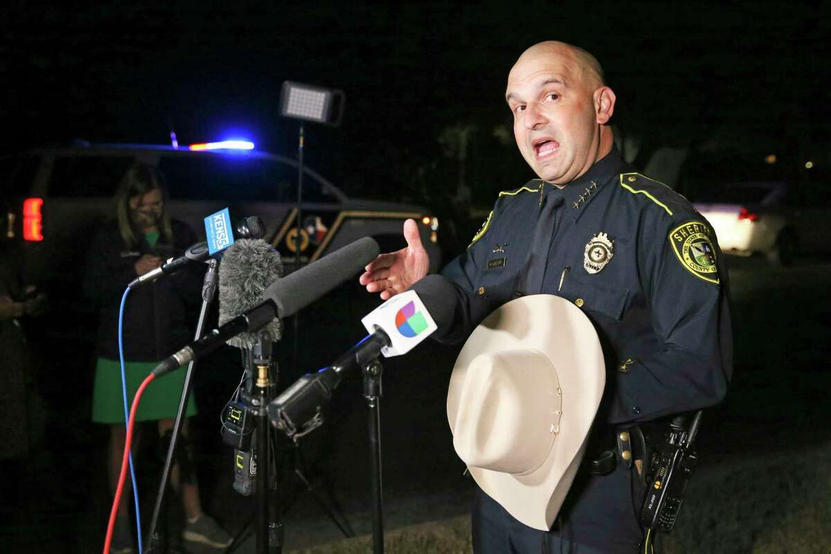 Bexar County Sheriff Javier Salazar said he felt under attack when County Commissioner Trish DeBerry grilled him about using a $20,000 donation to purchase a rescue and recovery boat.