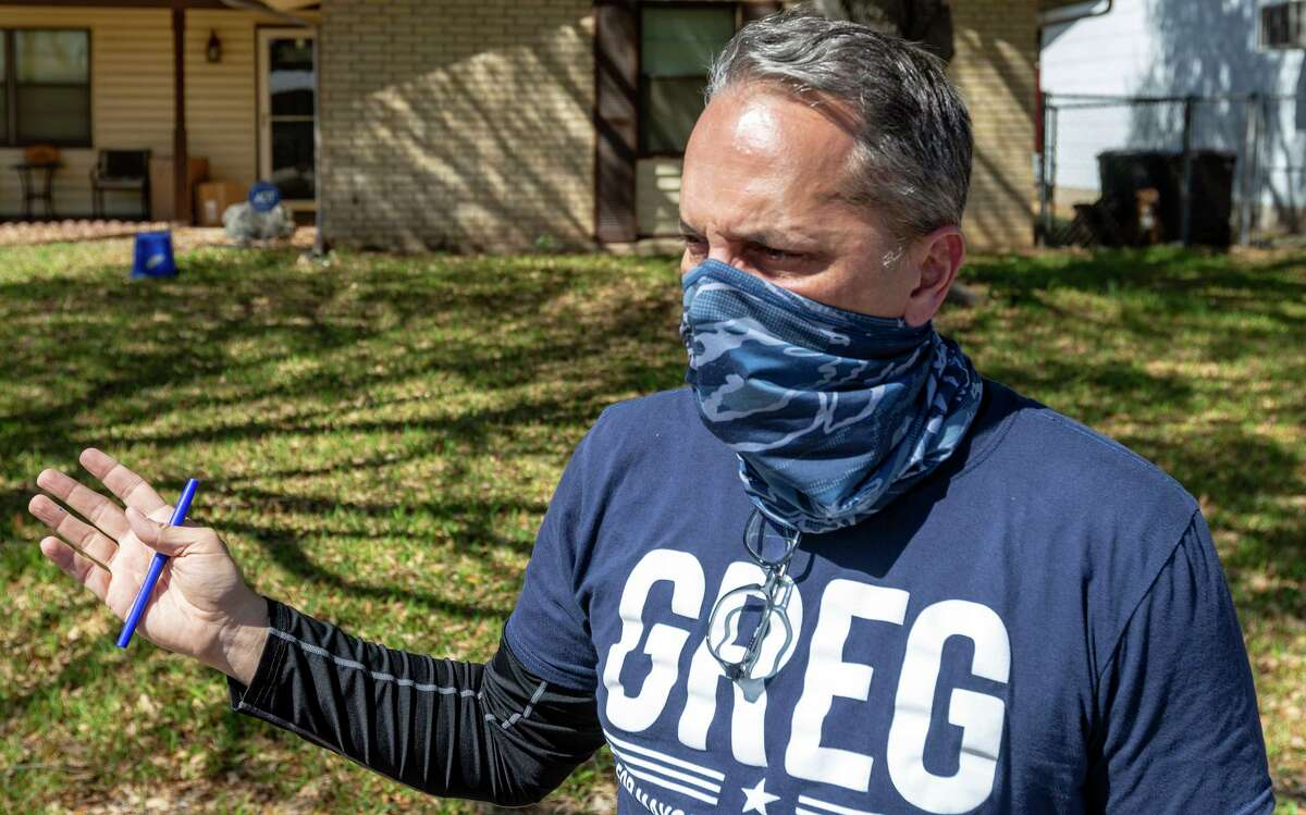 FILE PHOTO - San Antonio mayoral candidate and former District 6 councilman Greg Brockhouse is threatening to sue the city over its lack of transparency.