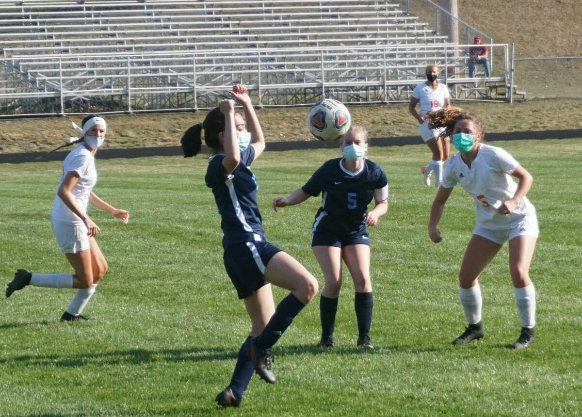 On Tuesday night, the Crossroads Charter Academy girls soccer team was defeated 8-0 by Cheboygan.