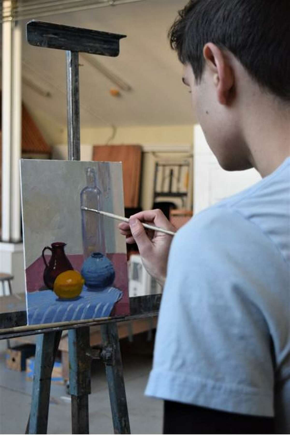 Spring programming at Lyme Academy of Fine Arts starts online with introductory landscape painting essentials preparing students for the great outdoors.