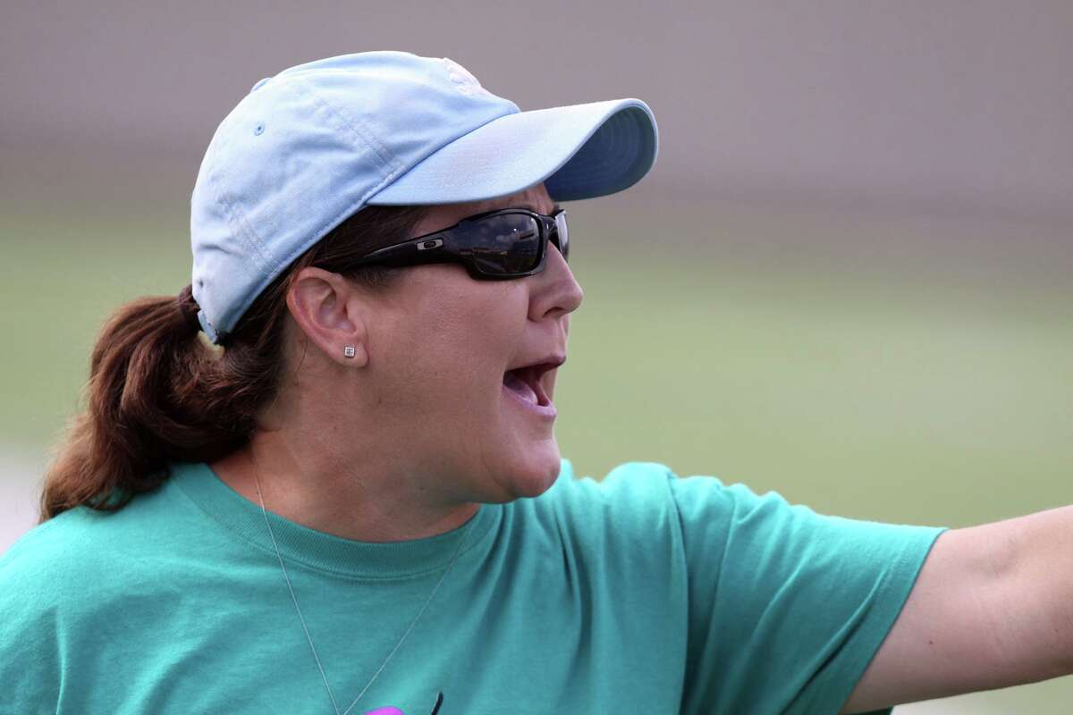 Friendswood head coach Laura Peter guided her girls' soccer team into the Region III-5A championship match Tuesday night.