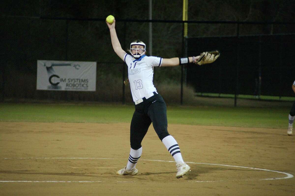 Clear Springs' Emma Strood struck out 14 Tuesday night to lead the Lady Chargers to their 20th straight win without a loss.