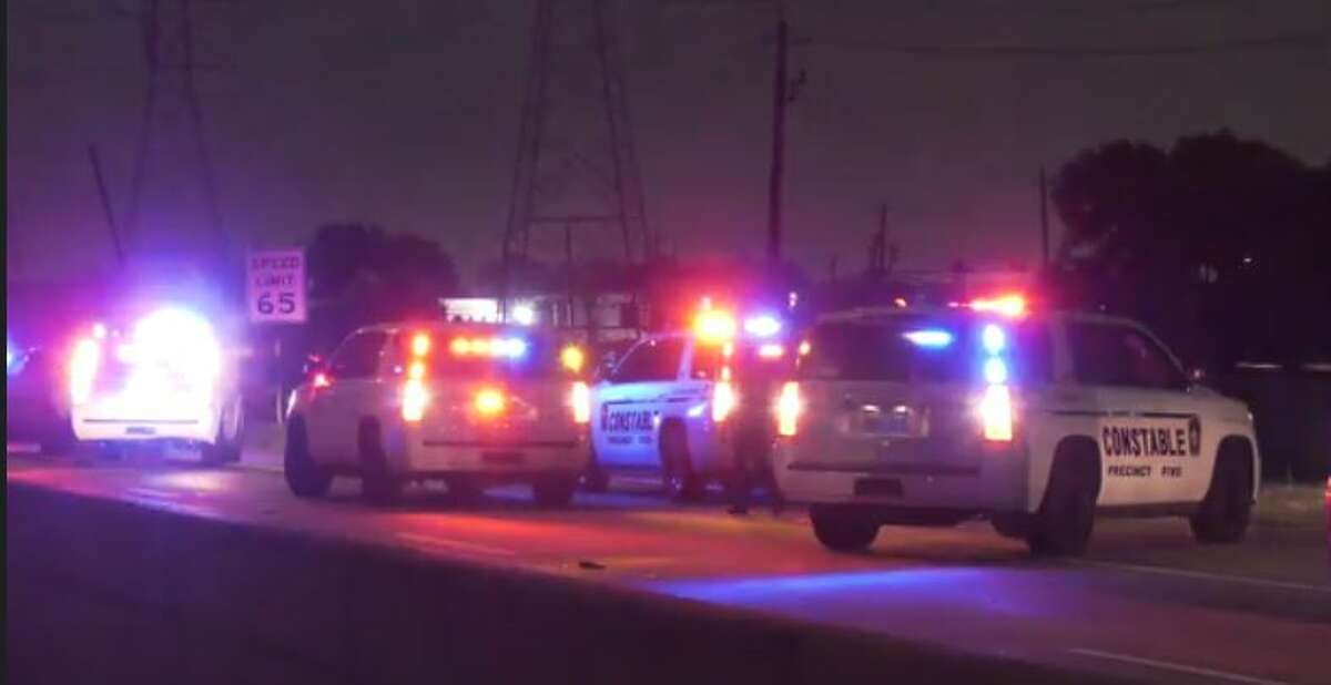 Authorities investigating a wrong-way crash on the Westpark Tollway in which one person died and four people were injured. Investigators believe the at-fault driver was intoxicated.