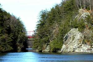 The Lover's Leap Gorge in New Milford