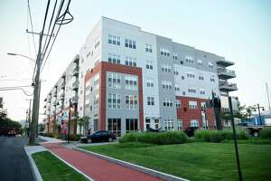 The Harbor Landing apartment complex at 28-30 Southfield Ave., in Stamford, Conn., has sold for $73 million.