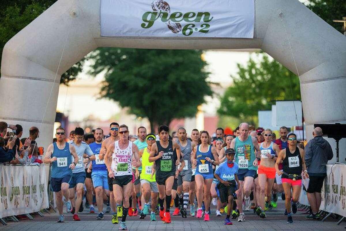 Houston Running Company's Green 6.2 race