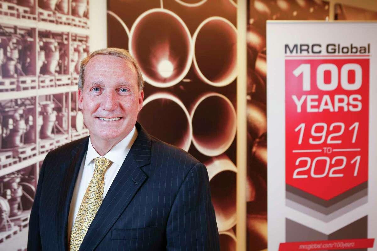 MRC Global President and CEO Andrew Lane leads the leading pipe, valve and fitting (PVF) distributor for the global oil and gas industry Wednesday, March 3, 2021, in Houston.