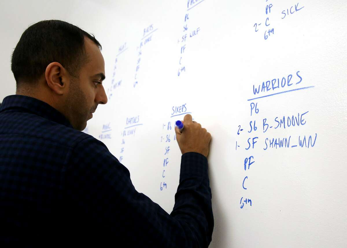 Input from Warriors' director of basketball analytics and innovation Pabail Sidhu is playing a larger role in helping coach Steve Kerr decide how to run his offense.