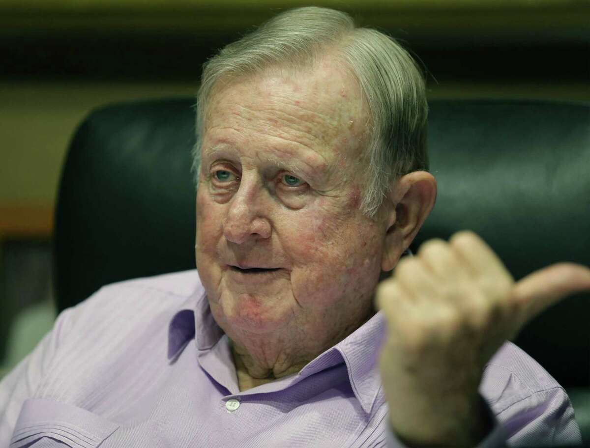 """San Antonio billionaire B.J. """"Red"""" McCombs and former executives of his McCombs Energy have settled legal disputes that have been underway in Bexar and Harris counties since 2017."""