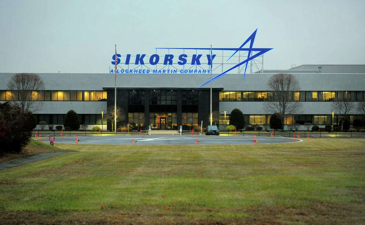 A view of Sikorsky Aircraft in Stratford on Jan. 3, 2020.