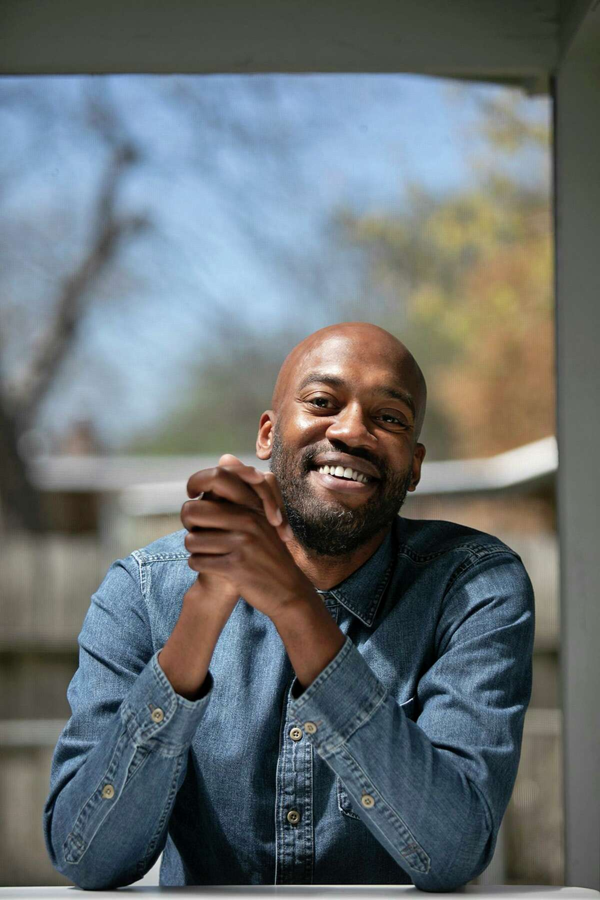 """Sam Sanders, host of NPR's """"It's Been a Minute,"""" has spent the pandemic traveling across the country, including a fair amount of time in San Antonio, his home town. Last year, he recorded his show here for about six months."""
