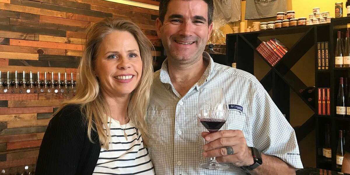 """Michael and Cathy Rape opened The Ferm Meadery earlier in 2021. The Ferm will be one of the starting locations for The Rotary Club of Lake Conroe's """"Rotary Roll"""" wine and beer tour in November."""