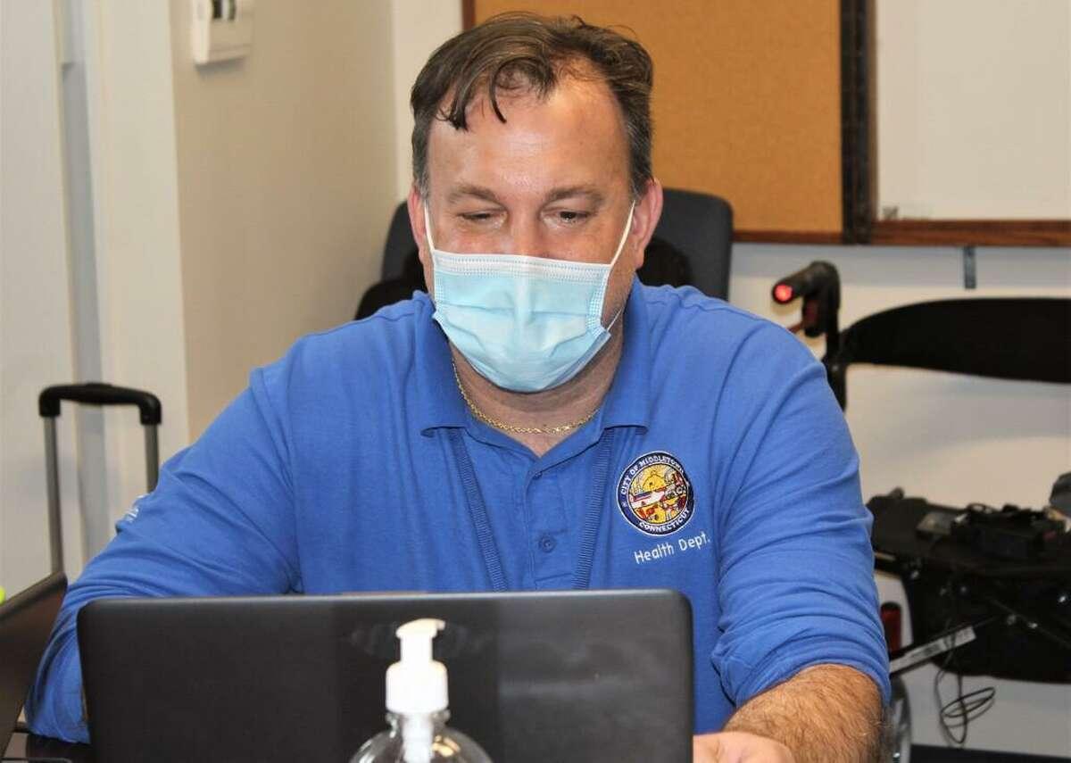 Middletown Acting Health Director Kevin Elak