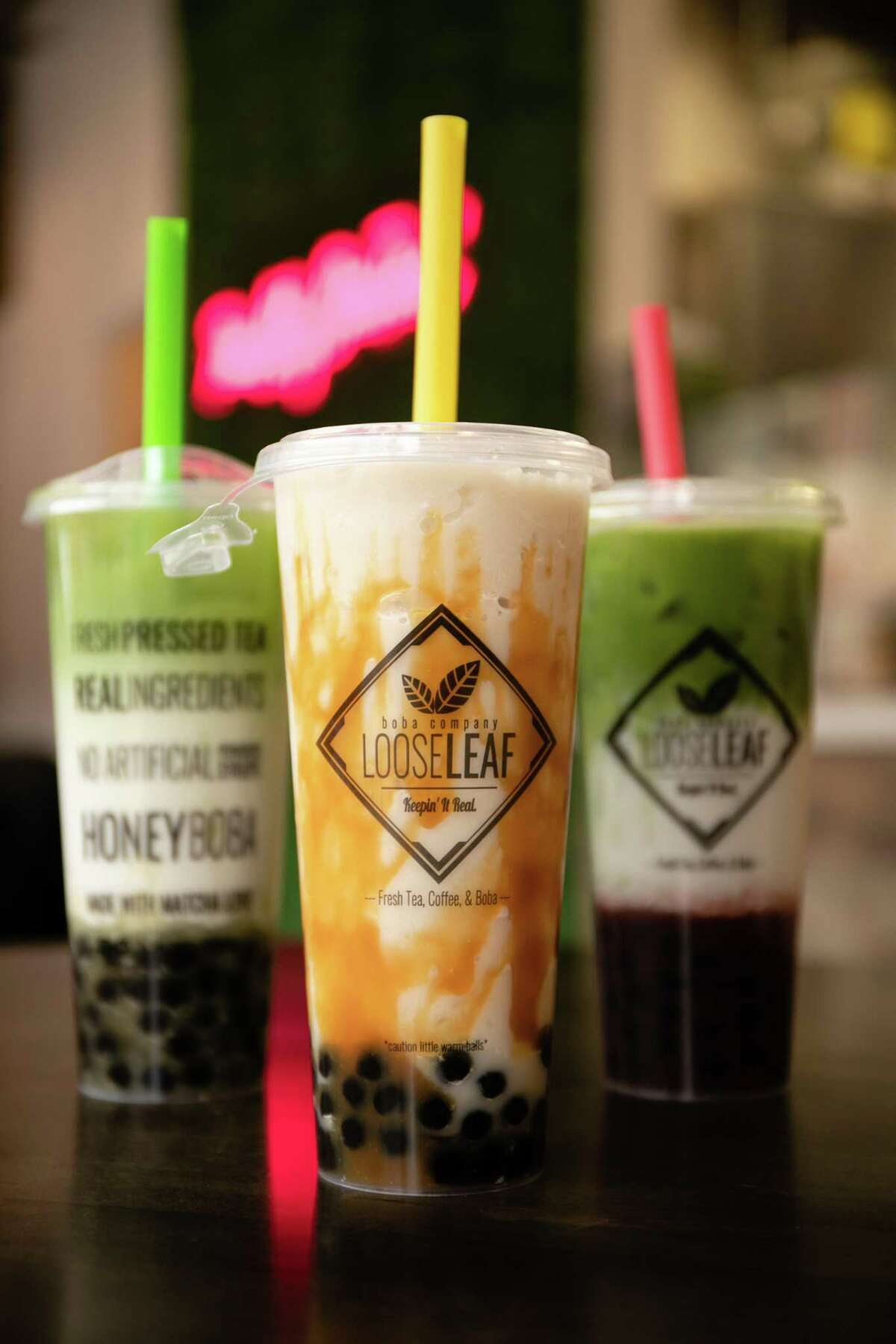 The owners of Loose Leaf Boba Company in New Haven say their new boba shop is unlike any other in the area, with natural ingredients like real fruit, a selection of local dairy and vegan milks and ceremonial-grade organic matcha starring in its drinks.