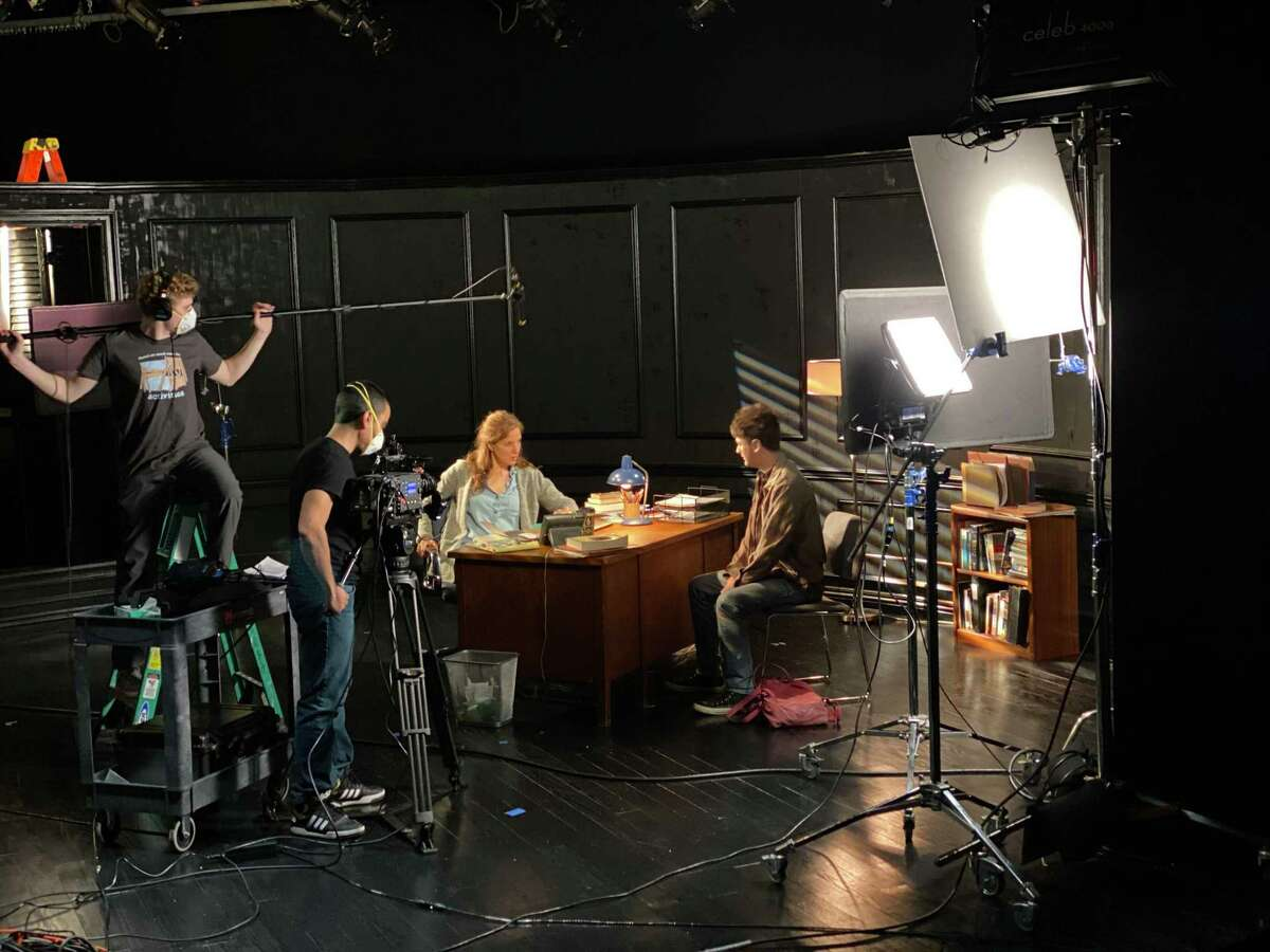 """TheaterWorks Hartford's production of """"The Sound Inside"""" was filmed over the course of six days."""