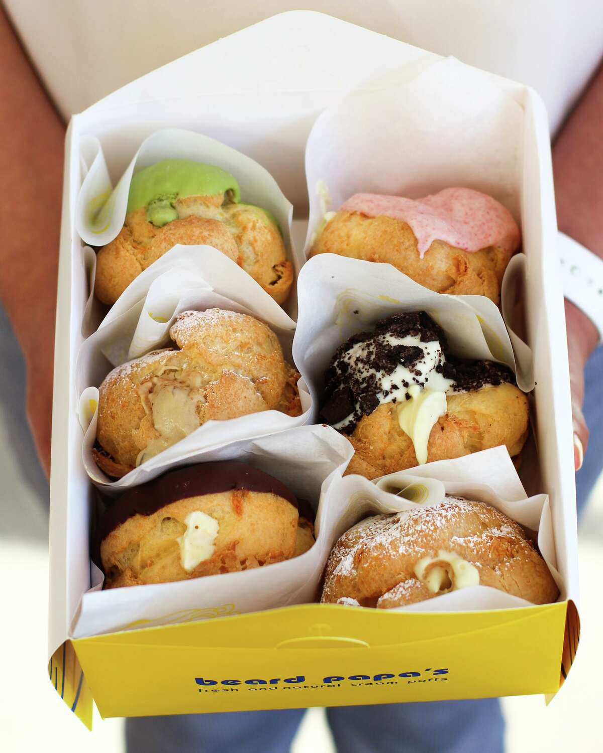 Beard Papa's, a Japanese cream puff chain, will open a new location in The Market at Springwoods Village.