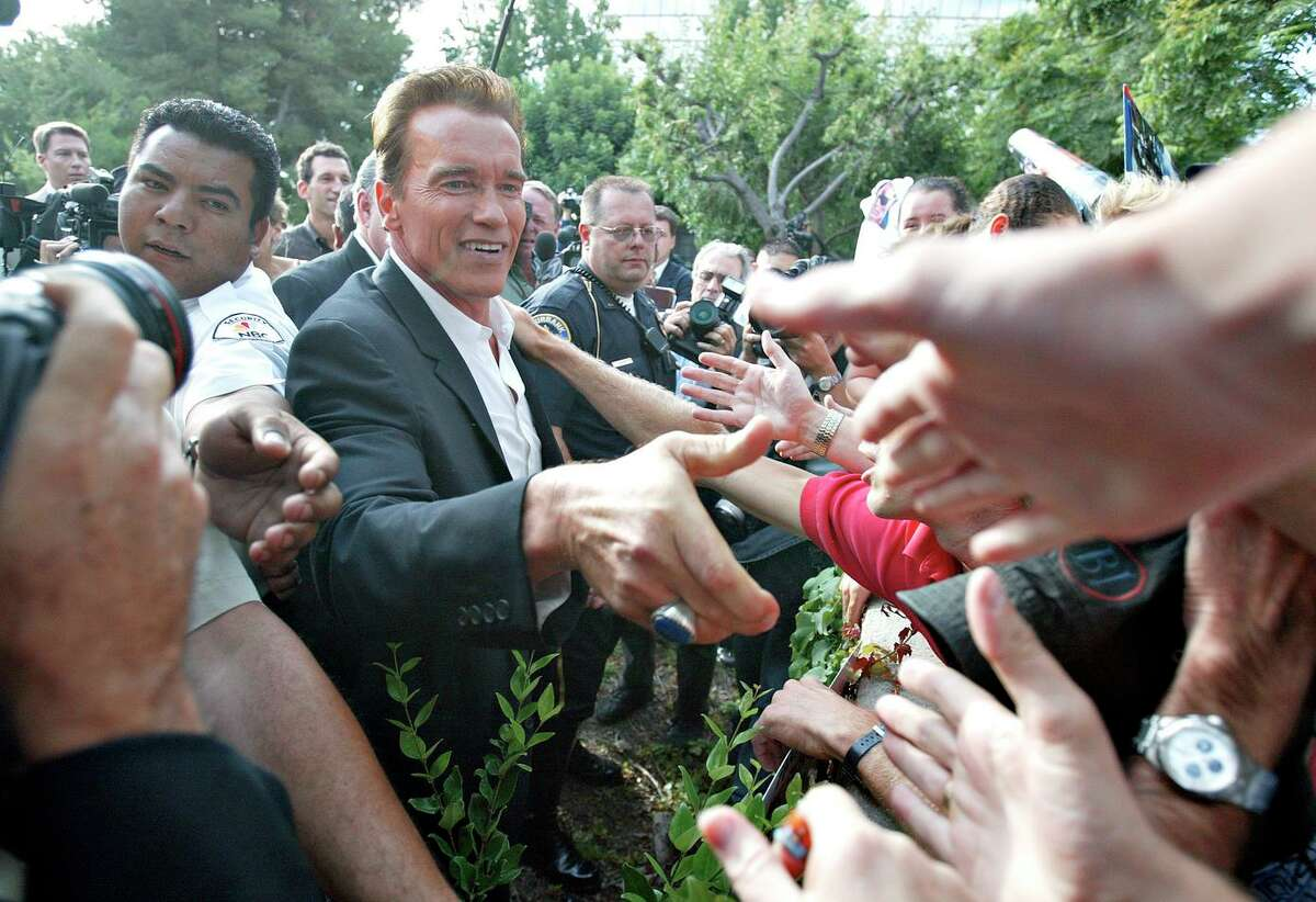 Movie star Arnold Schwarzenegger announced his entrance into the 2003 California gubernatorial recall election. Unlike 2003, this year's recall lacks buzz.