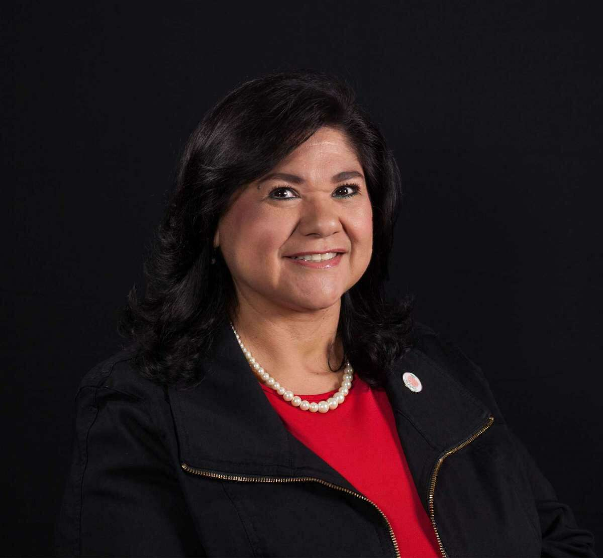 """Florinda """"Flo"""" Bernal is an incumbent on the Southwest ISD board of trustees who is seeking reelection on May 1."""