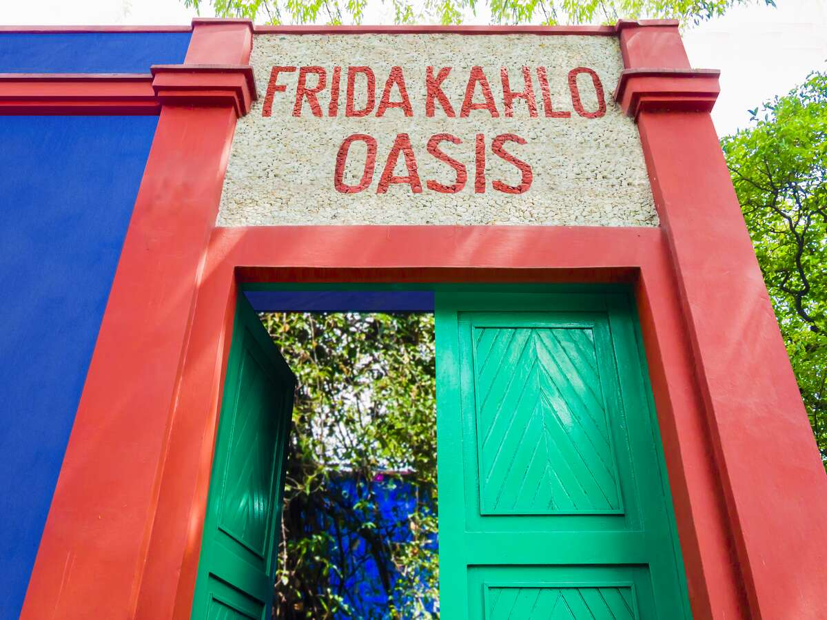 The Frida Kahlo Oasis will make its world debut on May 8 and will run until Nov. 2 at the San Antonio Botanical Garden, the attraction stated in a news release last month. *Pictured is a rendering of the exhibit.