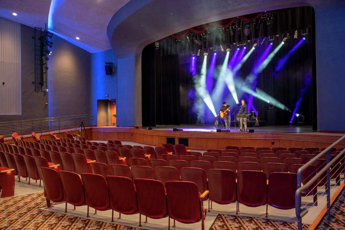 A behind the scenes look at the Ector Theatre as seen Wednesday, April 7, 2021, at 500 N Texas Ave. in Odessa. Jacy Lewis/ Reporter-Telegram