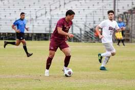 Gabriel Gacovicaj had five shots including two on goal in TAMIU's 2-2 draw against St. Mary's at home Tuesday.