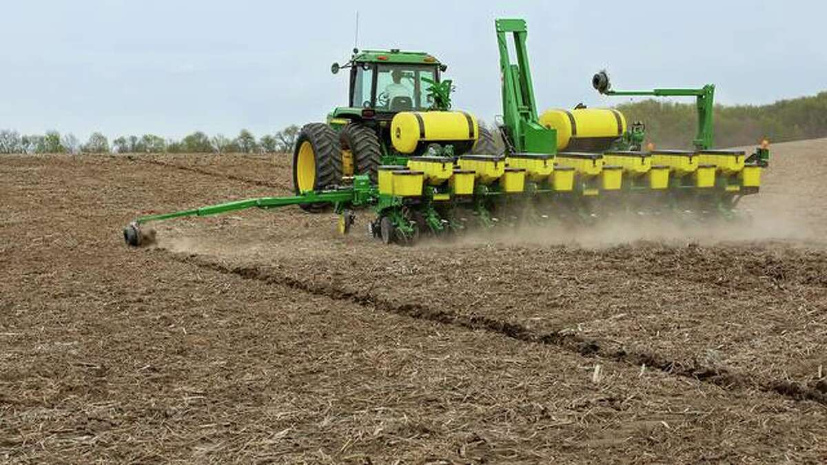 Illinois officials are cautioning drivers to be careful as spring planting begins.