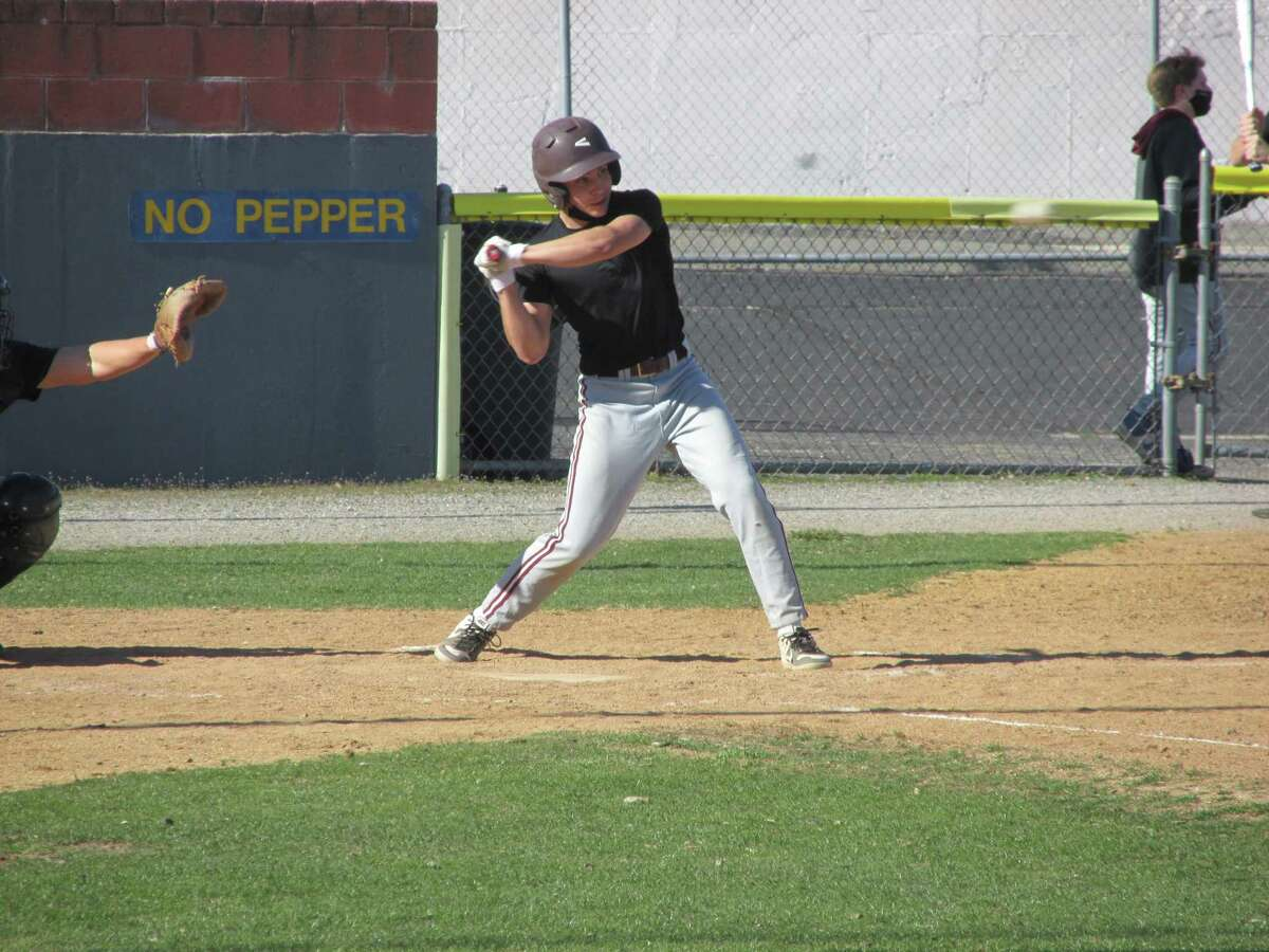 Torrington's Cooper Suminski, at bat, is one of hundreds of kids in the Berkshire League and NVL comprising virtually new teams after a year of Covid-19 enforced absence.