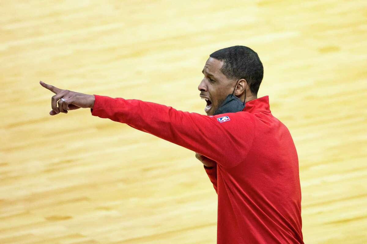 Stephen Silas and the Rockets actually had time for a practice on Thursday.