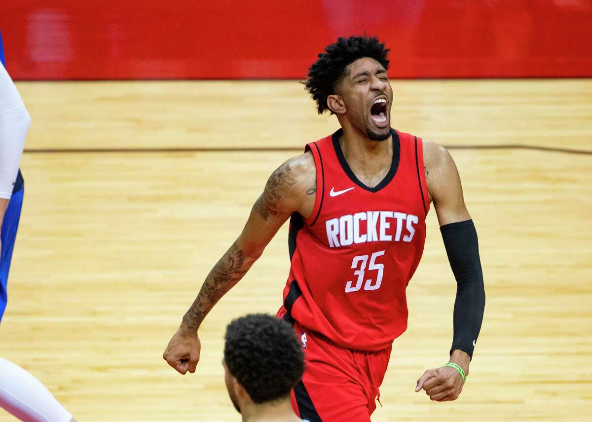 Rockets center Christian Wood seems like an ideal building block for the franchise's future but his contract is just short enough that he may not stick around to see the turnaround.
