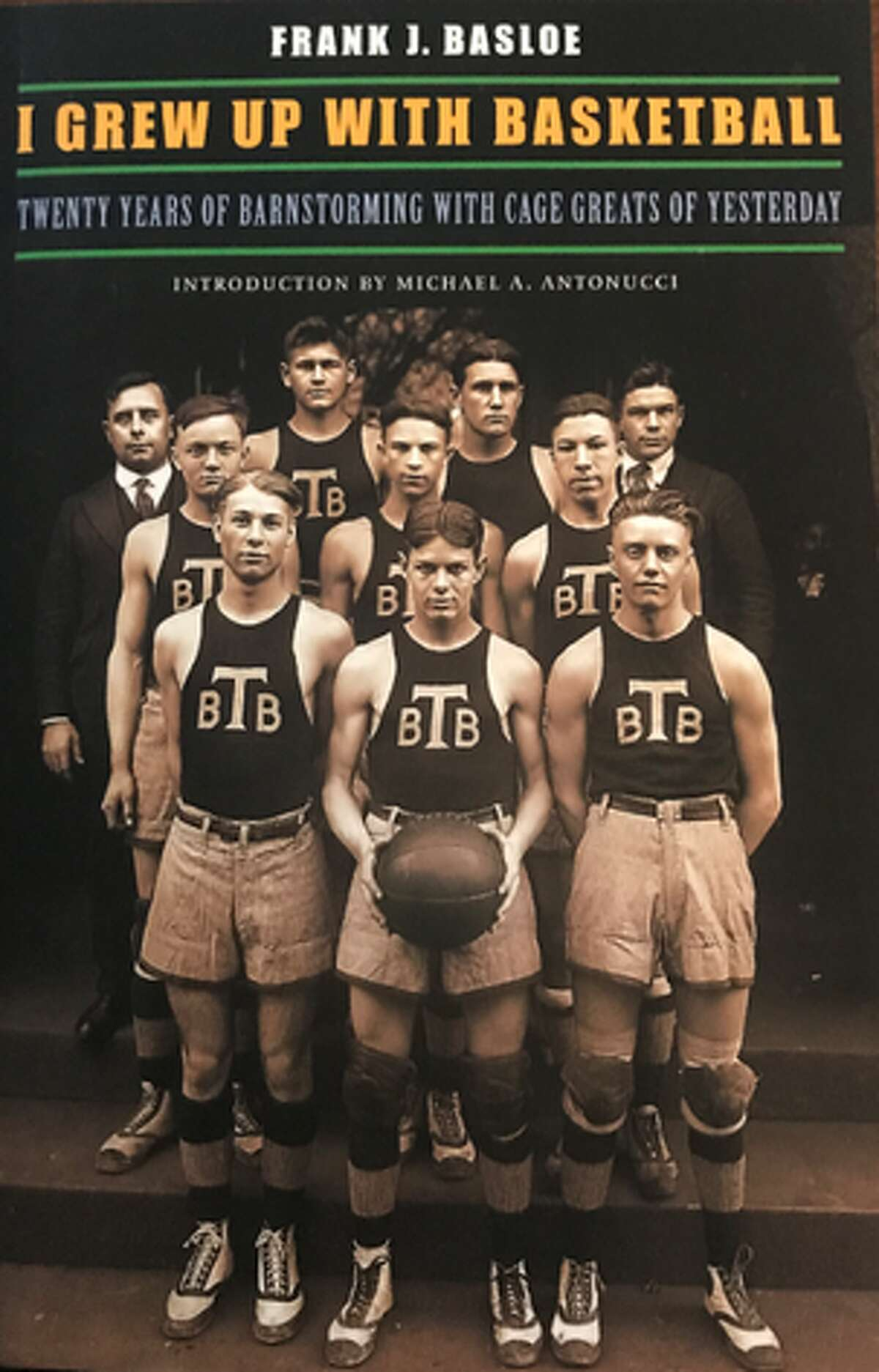 """Frank J. Basloe's 1952 book, """"I Grew Up With Basketball,"""" argues that Lambert Will's team, not James Naismith's team, played basketball months beforeNaismithis generally credited with inventing the gameDec. 12, 1891 in Springfield, Mass."""