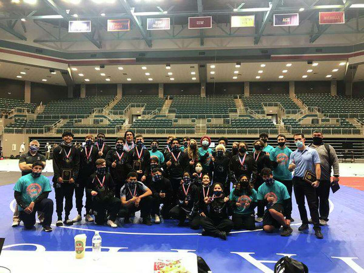 Paetow won both team wrestling championships at the District 11-5A tournament at the Merrell Center, winning eight individual championships and qualifying 22 athletes for the regional tournament.