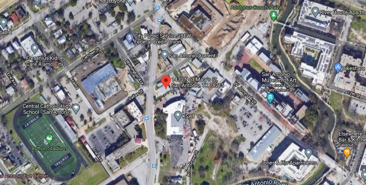 An alleged drunken driver on Wednesday hit and killed a bicyclist riding with her bike group just north of downtown, San Antonio police said. The map shows the approximate location of the incident.