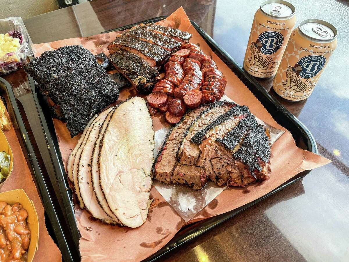 Smoked meats at 1701 Barbecue in Beaumont