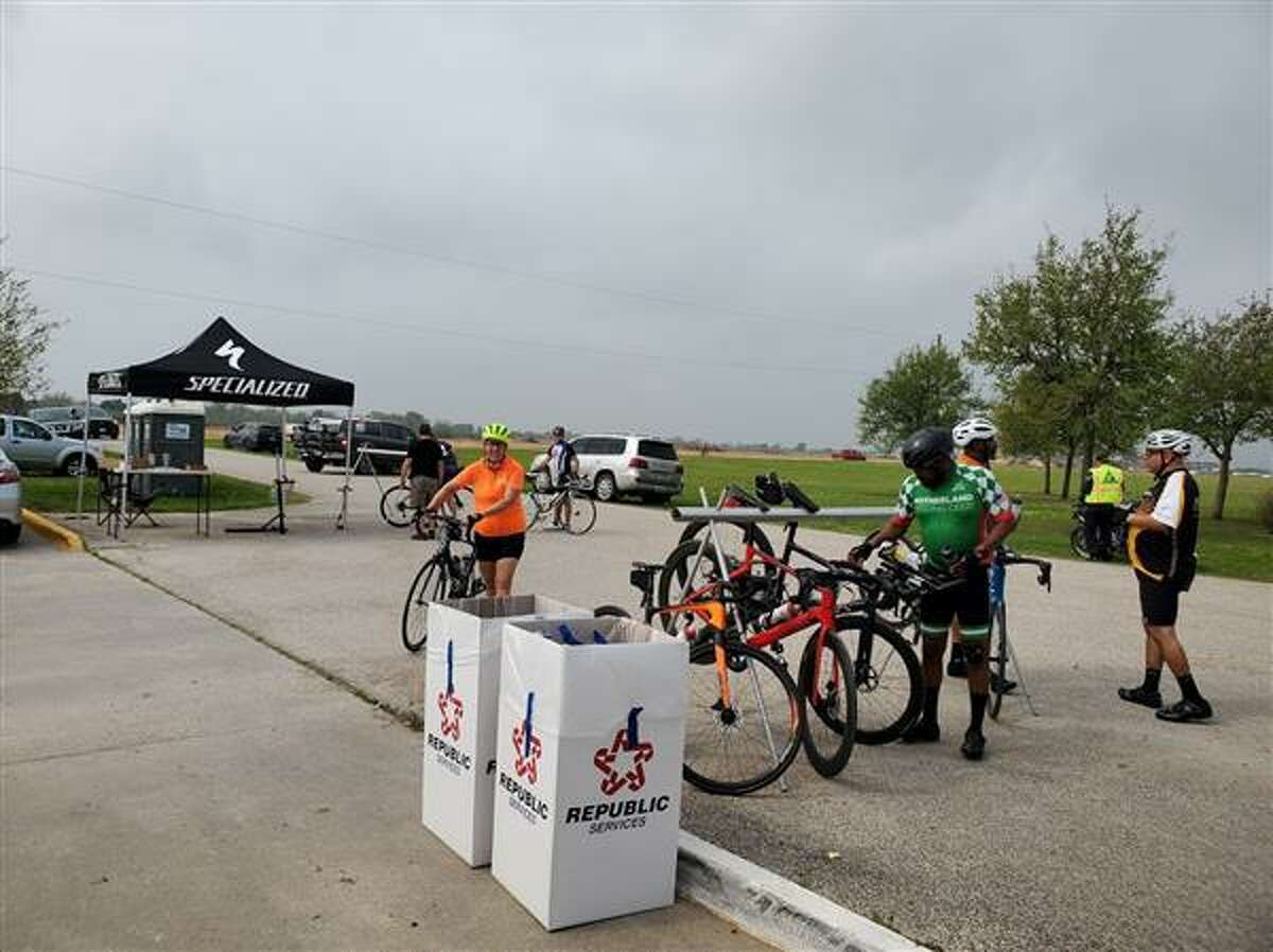 The Fort Bend Education Foundation's18th Annual Zuhnë Education Expedition bike ride was held Saturday, March 27, on winding routes throughout Fort Bend County.
