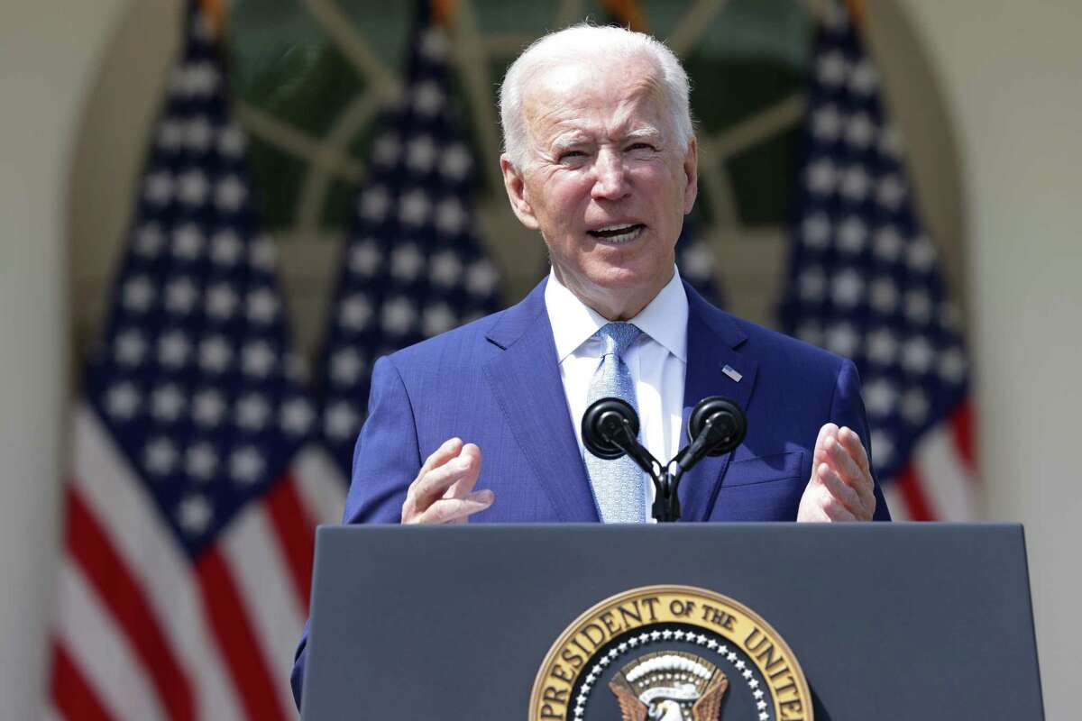 At the White House Thursday, President Joe Biden said he will sign executive orders to prevent gun violence and picked David Chipman to head the Bureau of Alcohol, Tobacco, Firearms and Explosives.