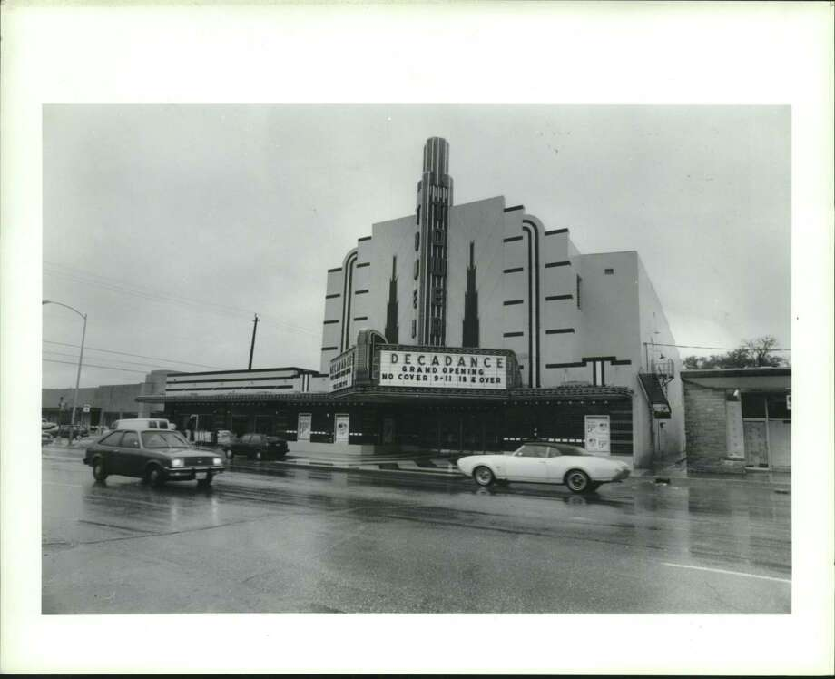 The Tower Theatre when it was Decadance, a nightclub, between 1990 and 1995. Photo: Steve Ueckert, Houston Chronicle / Staff Photographer / Houston Chronicle