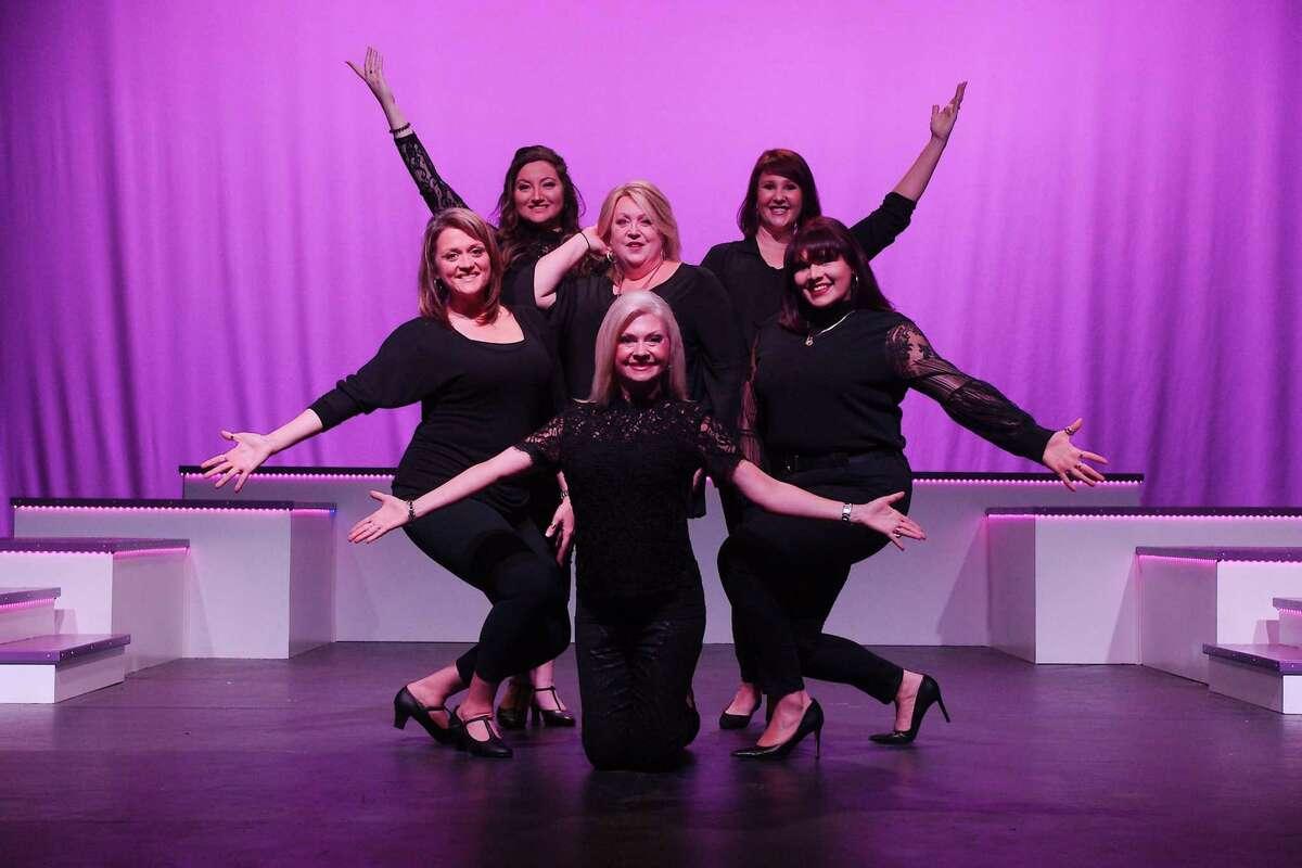 Margo Staley, left, Victoria Bryan, Terri Babb, Susan Mele, Nicole Flenniken, and Michaelina Gonzales will perform in