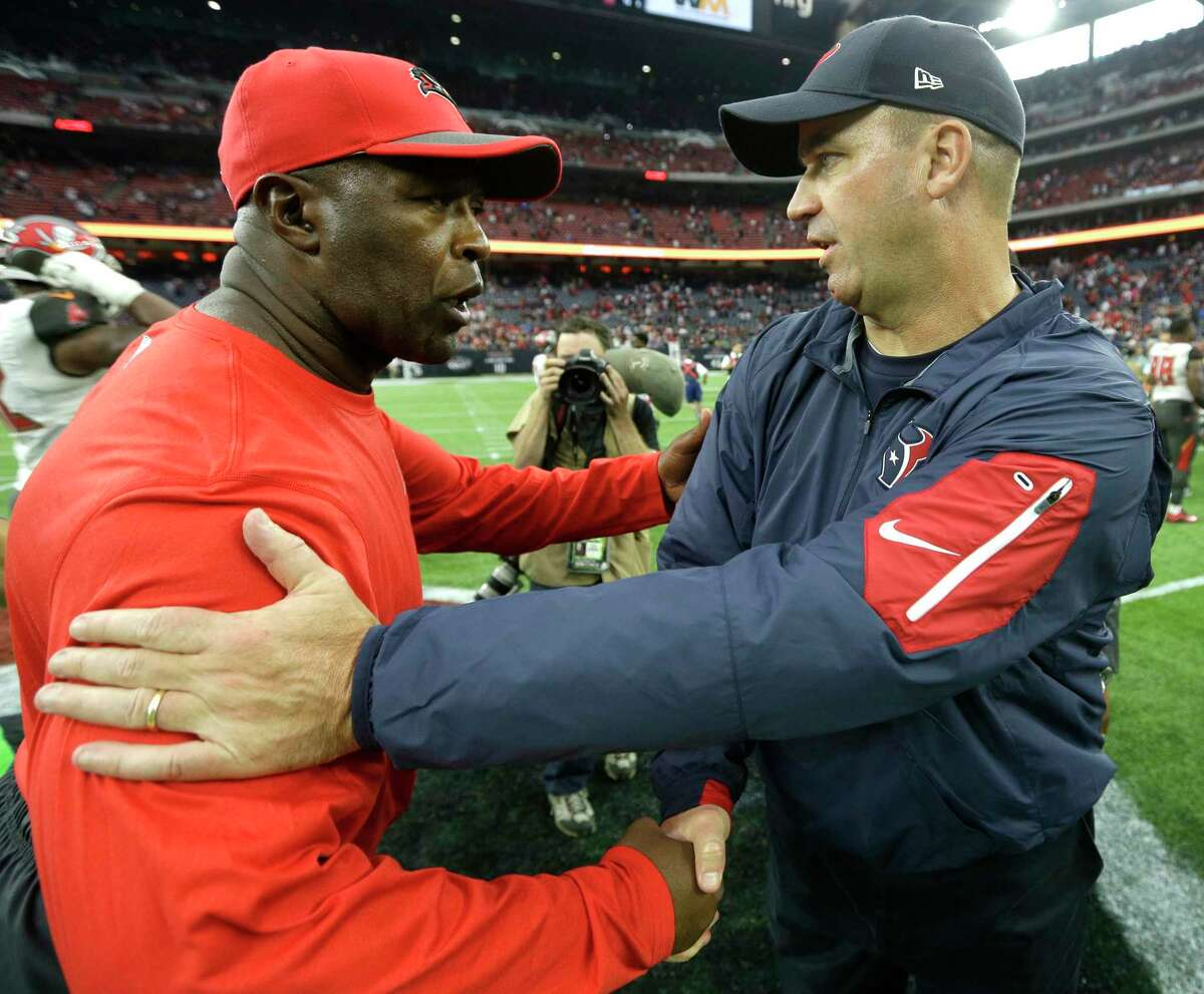 The Texans considered hiring Lovie Smith instead of Bill O'Brien in 2014.